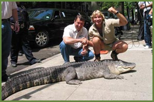 Jim Nesci and Steve Irwin